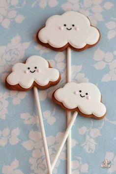Cookie Cloud Biscuits. So simple and sweet! http://funfoodforkidss.blogspot.co.uk/2014/02/cinnamon-cloud-cookies.html