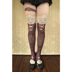 corset tights victorian -antique bordeaux- - abilletage【アビエタージュ】 コルセット通販
