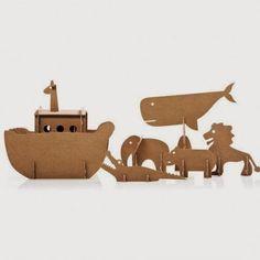 Cardboard Noah's Ark set from Buru-Buru