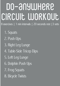 Fit Foodie Finds: Do-Anywhere Circuit Workout
