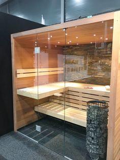 Wellness, Love this sauna of Cerdic. Sauna Design, Cabin Design, House Design, Design Design, Diy Sauna, Basement Sauna, Sauna Room, Spa Interior, Interior Garden