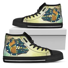 Dog Pattern, Animal Design, Wearable Art, High Tops, High Top Sneakers, Custom Design, Shoes, Products, Fashion