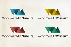Woodmere Art Museum Identity by Adam Flanagan, via Behance