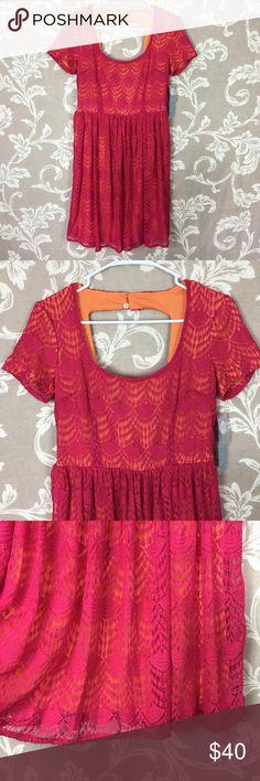 New London Times Size 6 Dress Sundress Crochet Measurements to come London Times Dresses
