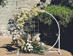 """6ca037a83466 Maisey Collections on Instagram  """"Our white circular arbour made its debute  today and OMG does it get any better!!!"""