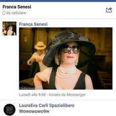 La #francasenesi per #ingrossitime mi ha chiesto altri cappelli belli come il suo #spazioliberohats  #toppissima  Ok #cansegugio alla ricerca di #spazioliberonews