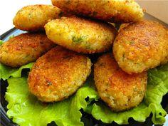 Вегетарианские котлеты из капусты