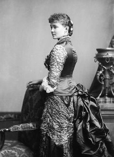Princess Louise Margaret, Duchess of Connaught and Strathearn, wife of Prince Arthur third, son of Queen Victoria and Prince Albert -  1880