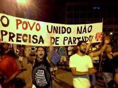 """""""...se opor vigorosamente a essa manipulação de direita e invadir esses atos com as bandeiras dos partidos que desde o inicio lutou contra o golpe no País, e nesse momento, mais do que nunca precisa organizar liderar as manifestações populares contra a direita e o regime golpista, colocando abaixo, não só Michel Temer, mas todos os golpistas, exigindo a anulação do impeachment e a volta de Dilma Roussef."""""""