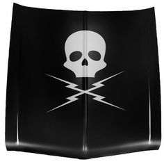 Death Proof Inspired Skull and Bolts Wall / Car Decal. $25.99, via Etsy.