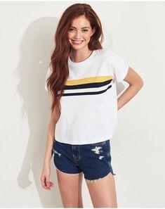 00abb681b6d Girls T-Shirts & Tanks Tops | Hollister Co.