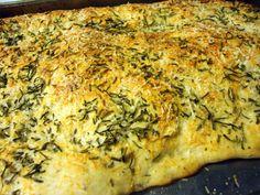 Herbed Foccacia Bread   mommysmenu I'm making this tomorrow!