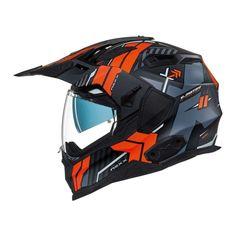 Κράνος #Nexx X.Wed2 Wild Country Black/Orange Matt Matt Motorcycle Helmets, Bicycle Helmet, Orange, Country, Black, Rural Area, Black People, Cycling Helmet, All Black