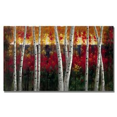 "Found it at Wayfair - ""Autumn"" by Rio Painting Print on Wrapped Canvas http://www.wayfair.com/daily-sales/p/Wall-to-Wall-Wow%3A-Large-Scale-Artwork-%22Autumn%22-by-Rio-Painting-Print-on-Wrapped-Canvas~TMAR6247~E22084.html?refid=SBP.rBAZEVWpRpQj6HlPxgqUAgqHigzy20N3tuxc2MSyaac"