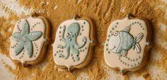 Galletas decoradas con glasa: un mar de galletas de Marina Blaukitchen.