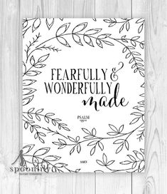 Nursery Bible Verse Art Scripture Art Christian Wall by SpoonLily