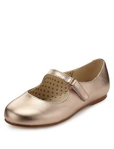 b8fd4dc1d834 Coated Leather Cross Bar Shoes (Younger Girls) Girls Shoes