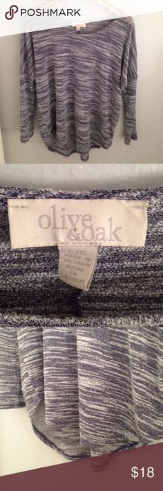 Olive and Oak purple light weight sweater Great condition Olive & Oak Tops