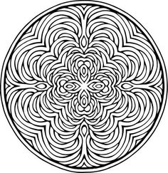Creative haven mandalas collection coloring book 문양 мандалы, рисунки 및 раск Adult Coloring Pages, Colouring Pics, Mandala Coloring Pages, Printable Coloring Pages, Coloring Books, Mandalas Painting, Mandalas Drawing, Zentangles, Wallpaper Moon