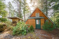 850 Sq. Ft. Tiny A-frame Cabin in Lilliwaup