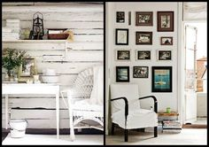 """Blogger Deb describes Nordic Decor as, """"North meets South. Contemporary meets Classic. Shabby Chic meets Minimalism."""""""
