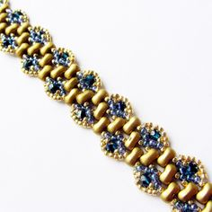 Peacock Wave Bracelet | JewelryLessons.com