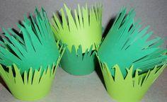 lion king birthday cupcake holders or hats