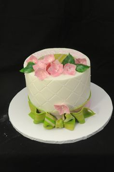 Quilted Bithday Cake  on Cake Central