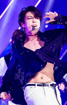 Rip jungkook's shirt but literally