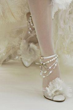 vintage glam shoes by maribel
