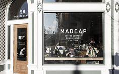 Seth Herman | Multi-disciplinary graphic design and creative direction. Mad Cap Coffee, Michigan