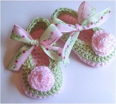 Crochet Baby Booties Baby Booties Baby by TippyToesBabyDesigns