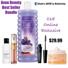 C18 Online Exclusive- Avon Beauty Best Seller Bundle. Message me or join my group to order: https://www.facebook.com/groups/494959917352151/