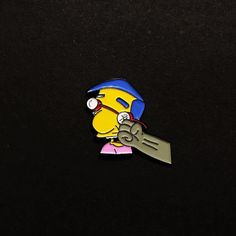 #Repost @vulgarcollection  Here is our new pin! Our Milhouse/pantera rip is now for sale! Limited to only 100 and numbered on the back! Vulgarcollection.bigcartel.com or click the link in the bio! #vulgarcollection #pin #pins #pinsforsale #pinstagram #pincollector #pincommunity #pincollection #lapelpin #lapelpins #gotpins #patch #patches #patchgame #pingame #simpsons #milhouse #milhousevanhouten #milhousepin #simpsonspins #simpins #bart #homer #marg #pantera #vulgardisplayofpower #metal…