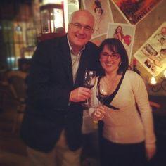 Katrina Holden and Stuart Blackwell, chief winemaker St Hallet Wines, Barossa SA