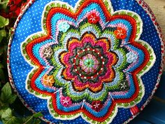 No diagram agh, not to worry, just a few colorful yarns and a nice pattern of your choice will be the result of a beauty like this one.