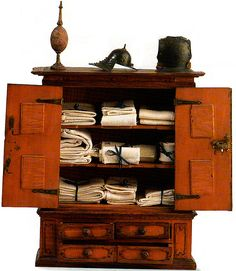 Incredible, stunning miniature cabinet!  WOW!