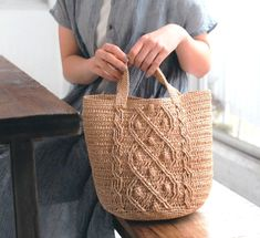 Red Tote Bag, Striped Tote Bags, Crochet Beret, Easy Crochet, Japanese Crochet Patterns, Crochet Market Bag, Crochet Books, Ladies Boutique, Purses And Bags