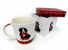 Tiermotiv TassenHunde Motiv Tasse: Noah - Berner Sennenhund, Tasse mit Box