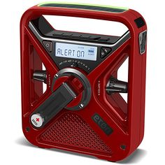 Great tech gear for camping and hiking: Eton American Red Cross FRX3 weather radio. The tech equivalent of a first aid kit.