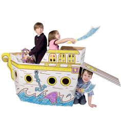 Amazon.com: Pirate Ship - Markers Included: Toys & Games