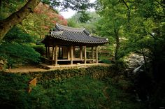 Soswaewon, Korean traditional garden, constructed in the late 1520