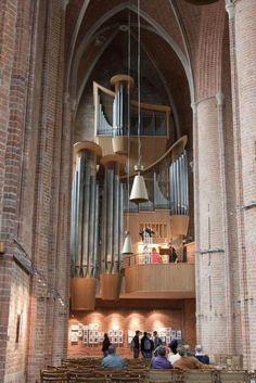 HANNOVER Altstadt Marktkirche mit Orgel old town hanover germany