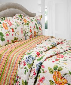 Another great find on #zulily! Amie Vintage Collection Quilt Set #zulilyfinds
