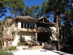 Great Home if you are looking for a second row Ocean Front home in Hilton Head.  Owner is very nice to work with.