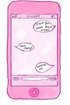 How I imagine me texting a future boyfriend