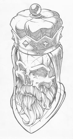 As aesthetically pleasing as tattoos are, they can be costly and require a lot of time, effort, and patience. Sketches, Skull, Art Drawings, Drawings, Tiki Head, Tattoo Drawings, Graffiti Art, Tattoo Stencils, Skulls Drawing