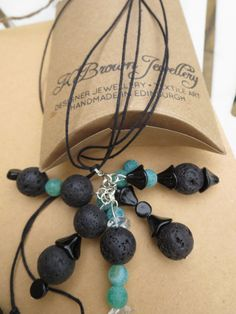 Check out this item in my Etsy shop https://www.etsy.com/listing/237657246/gemstone-lariat-necklace-handmade-lariat