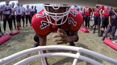 Coach Jon Gruden helps a Florida high school football team prepare for their upcoming season.