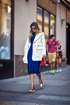 Look NYFW: Vestido Midi | Skazi